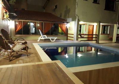 piscina e lazer - pousada encanto do pero - cabo frio