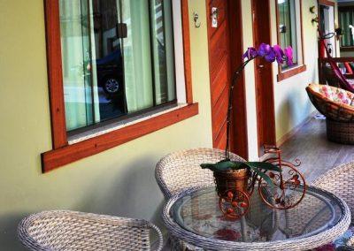 varanda - pousada encanto do pero - cabo frio